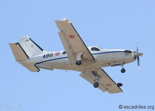 Un des TBM-700 de l'Armée de Terre