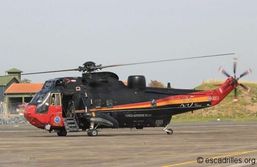 Le Sea King des forces armées belges