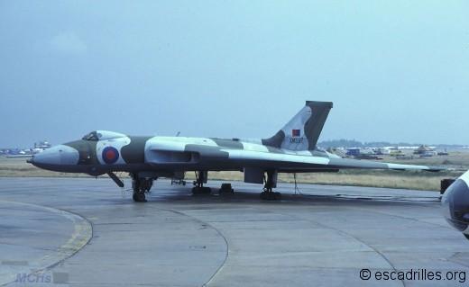 Vulcan du Sqn 50 vu en 1983