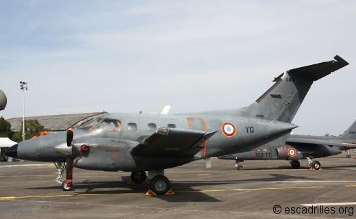 Enbraer 121 Xingu: une vingtaine vole à Avord