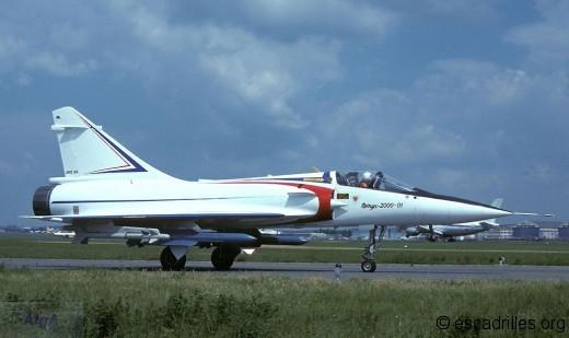 Le premier prototype du 2000 arrivé un peu tard
