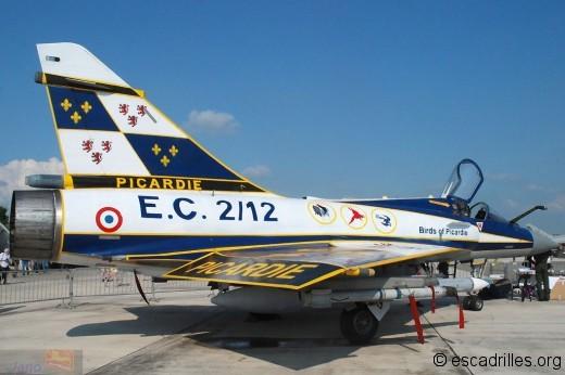 2000 RDI de feu l'EC 2/12 Picardie vu à reims en 2009