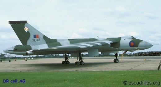 Avro Vulcan 1978 617Sqn