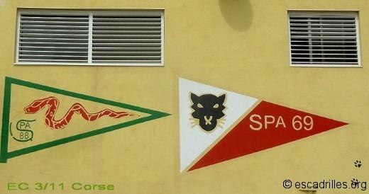 escadrilles SPA 69 et SPA 88