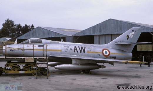 Mystère IVA 7-AW SPA15