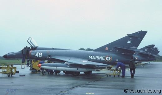 Super Etendard 1982 11F-48