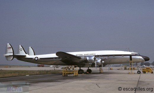 Un C-121 du National Guard Bureau