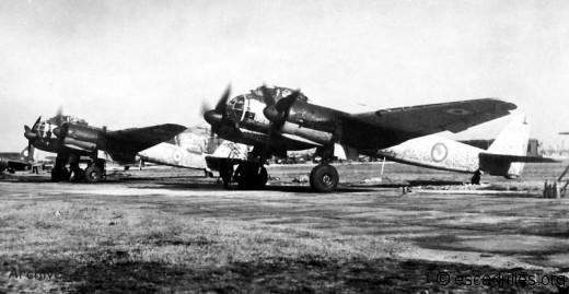 Junker 88 du GB I/31 Aunis, en 1945