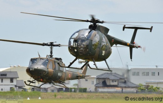 OH-6 UH-1
