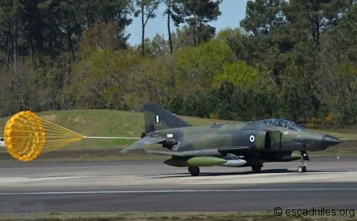 Parachute de RF-4E