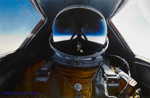 Auto-portrait de Brian, pilote de Blackbird