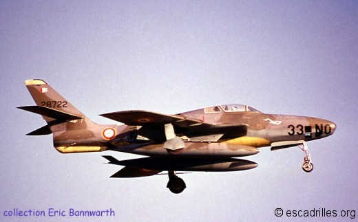 RF-84F 28722 33-NO 1961
