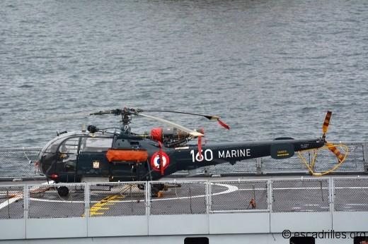 A bord du La Fayette, sortant du port de Ponta Delgada (Sao Miguel, Açores)