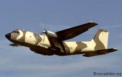 Camouflage africain hélas non retenu par la suite, pour les C-160