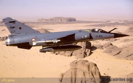 Les F-1C de la Douze sont souvent détachés en Afrique