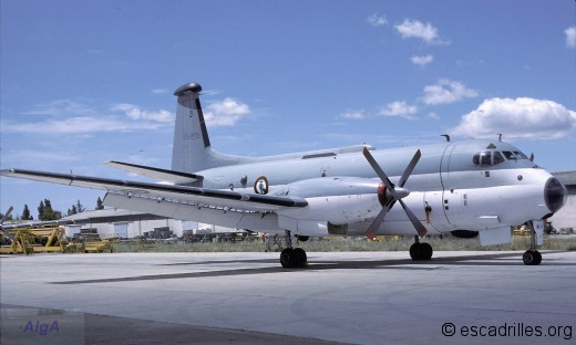 Le 22F-3 vu à Garons en juin 1984