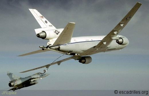 Les années 90 marquent le début des opérations aériennes en grande coalition