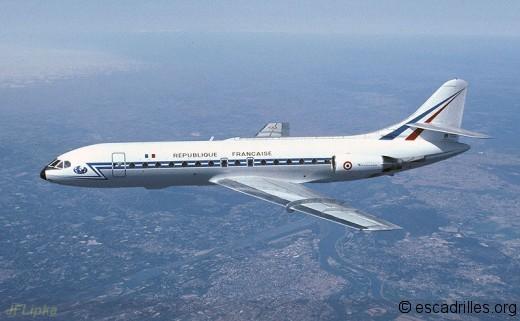 Les Caravelle de l'AA ne verront pas le nouveau millénaire (ici un avion du 3/60 Estérel)