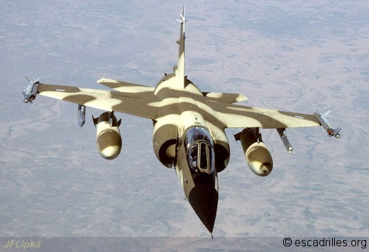 Les multiples capacités du F-1CR seront mises à contribution, après la guerre froide