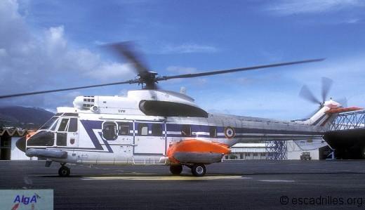 Super Puma de l'ETOM 82 Maine