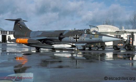 F-104G 21+02 JB32