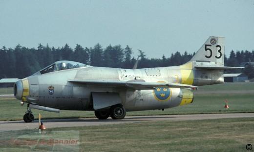 SAAB J-29F de la F3