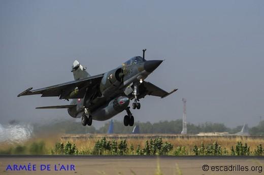 D'Harmattan à Serval, les Mirage F-1 ont servi les opex jusqu'au bout