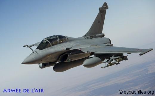 A compter d'Harmattan, l'utilisation des Rafale Air en opex devient la règle