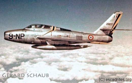 A compter de juillet 1956, la Neuf va être supersonique (en léger piqué)