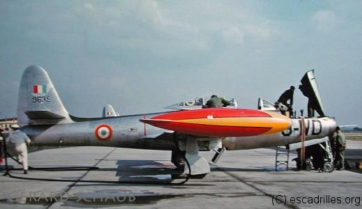 Le 1/9 Limousin va voler à peine 1 an sur F-84G
