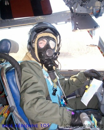 Pilotage en conditions NRBC: c'est sans tablette !