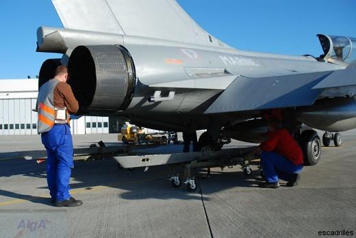 Nouvel avion aussi pour les techniciens: rien à voir avec la maintenance des Crouze