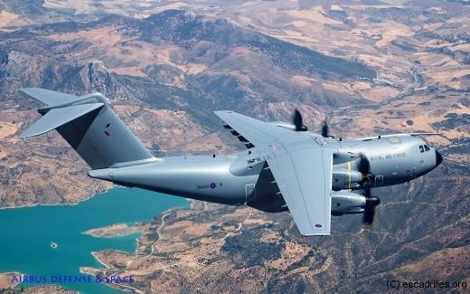 La RAF terminera 2015 avec 8 ou 9 A400M