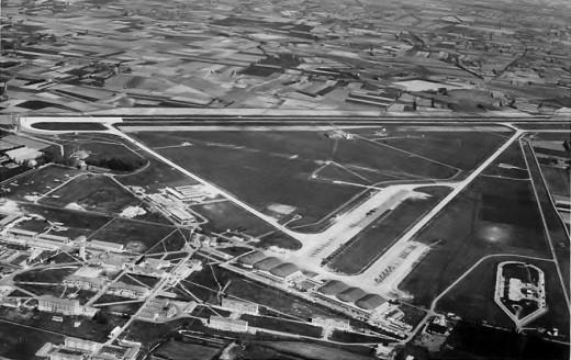 La base aérienne 115 au début des années 60