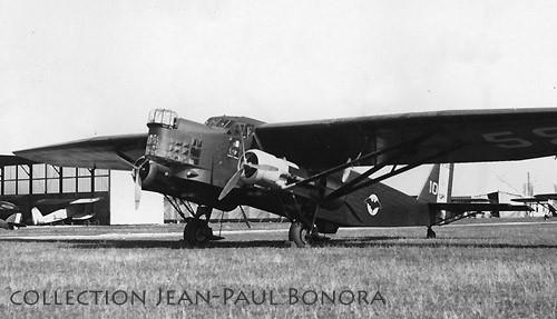 Farman 222/1 sur le terrain d'Aulnat (J.-P. Bonora via Traditions-Air)