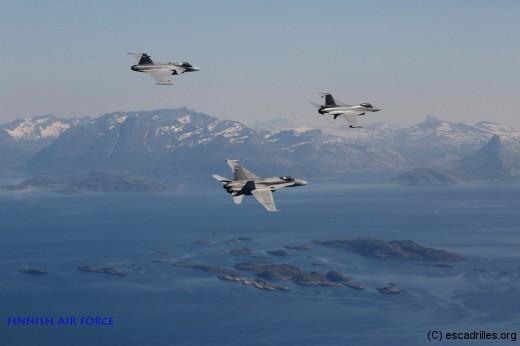 F16-F18-Gripen_FinnishAF