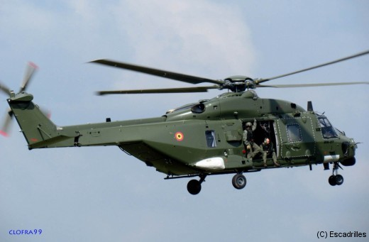 Le RN-07 tout nouveau NH90 belge