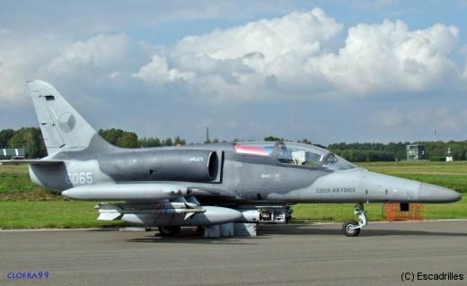 très joli (et très guerrier) L159 de la Czech Air Force