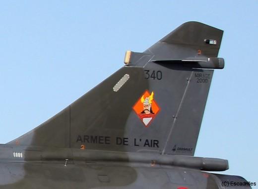 La SPA 96 'Le Gaulois' est la 4ème escadrille de l'EC 2/4