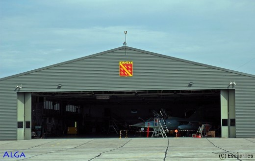 Seule unité FAFL victime des coupes sauvages de la période 2007-2012, le groupe Alsace piaffe en attendant l'heure de sortir de son hangar