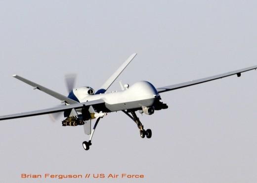 Un MQ-9 Reaper (ici de l'USAF en 2007): intensivement utilisé par la RAF