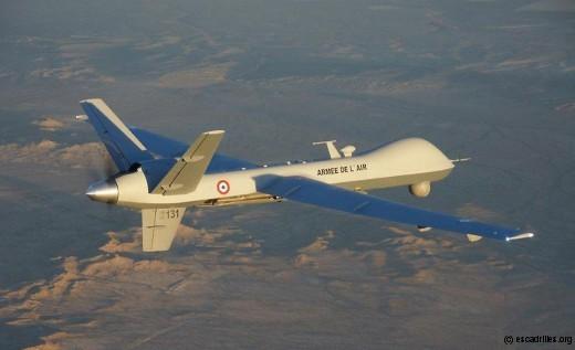 Les Reaper sont actuellement utilisés depuis Niamey, en mode reco pur