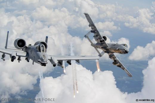 Deux A-10 valent mieux que un F-35 tu l'auras !