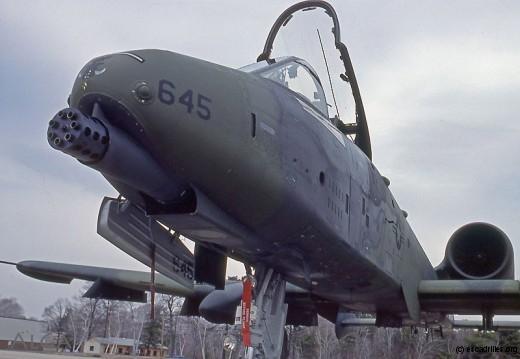 Le canon GAU-8A