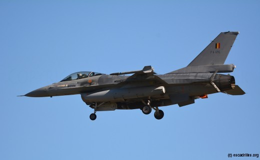 F-16A MLU belge