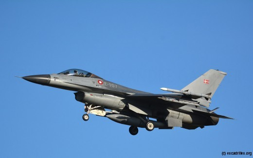 F-16A MLU danois