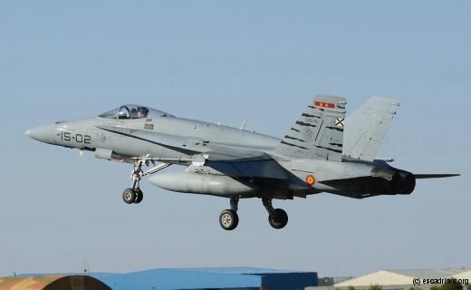 F-18A espagnol vu en 2011