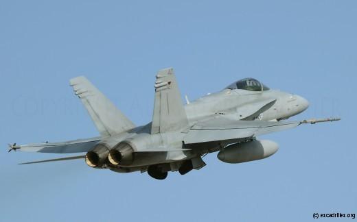 F-18C finlandais