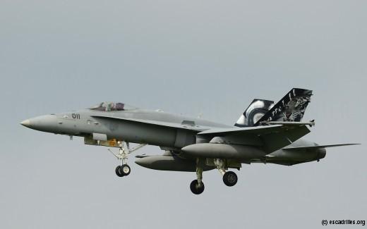 F-18C helvète