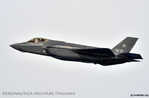 Premier F-35A de série assemblé en Italie